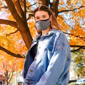 Rhinestone Fashion Mask